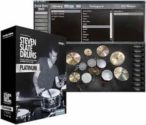 Steven Slate Drums - SSD4 Sampler 1.1 + SSD4 Library Platinum VSTi, RTAS, AAX, AU WIN.OSX x86 x64